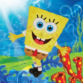 Picture of person wearing Sponge Bob outfit